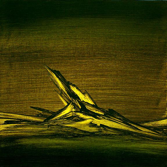 Nocturno,Oil on Canvas,80x80cm,2011
